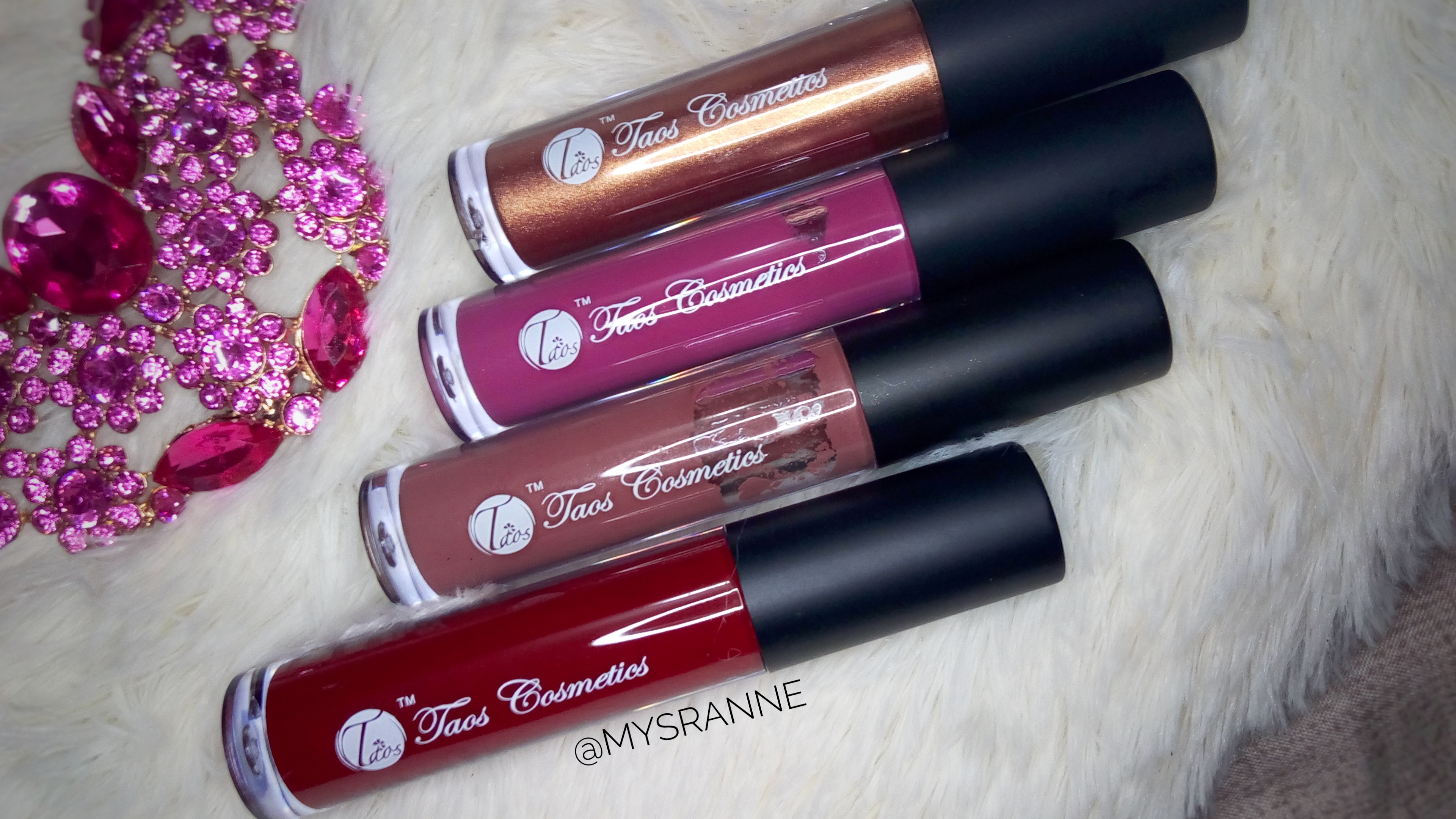 TAOS COSMETICS LIQUID GLASS (Review & Swatches)