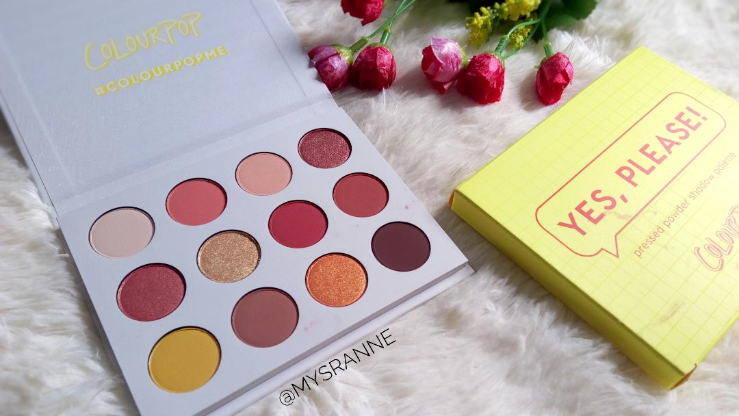 COLOURPOP YES PLEASE PALETTE (Review & Swatches)