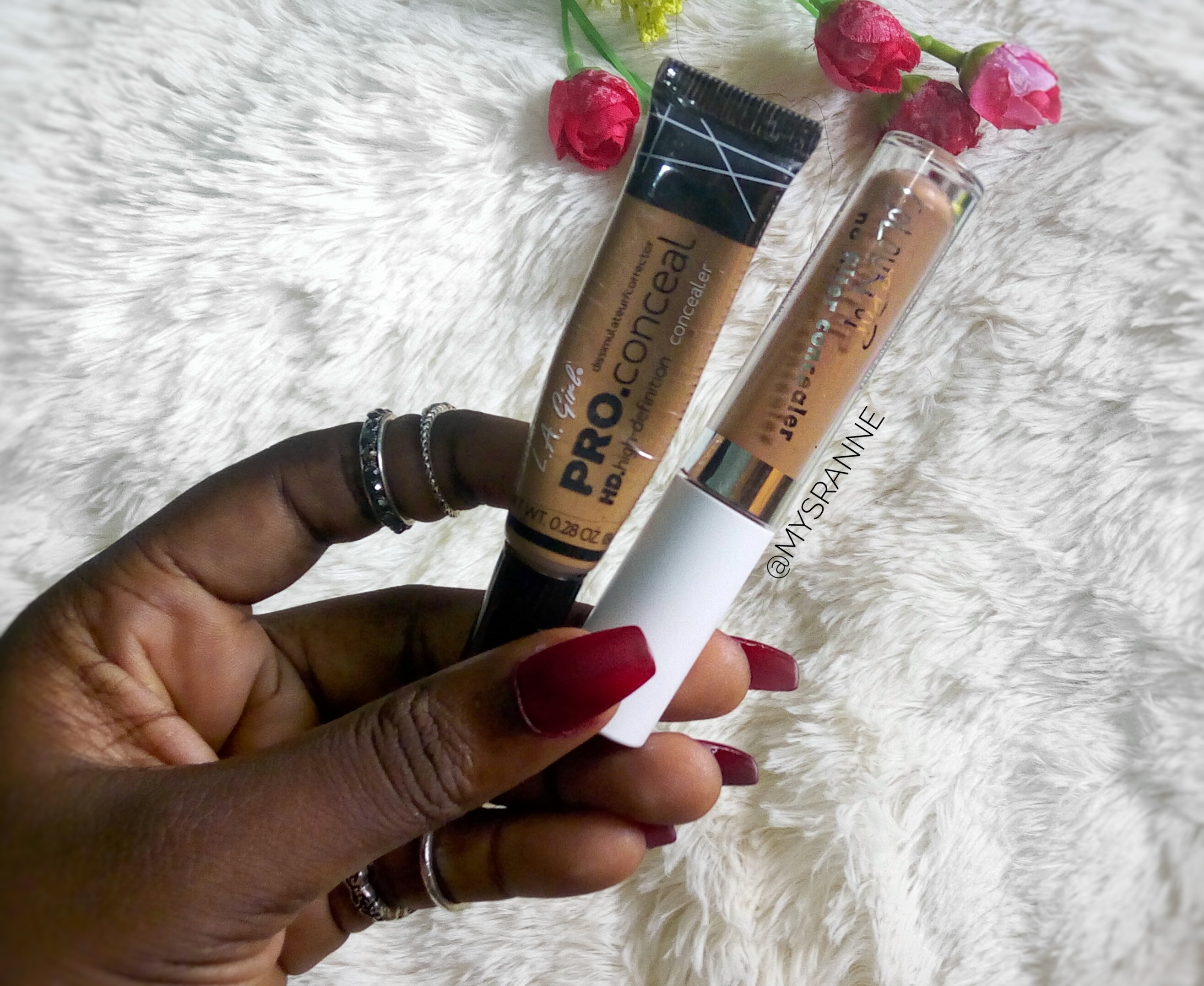 CONCEALERS: L.A GIRL PRO VS COLOURPOP NO FILTER