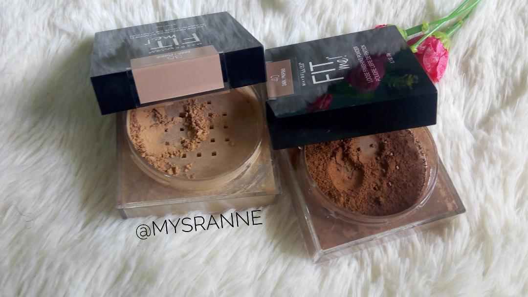MAYBELLINE FIT ME LOOSE FINISHING POWDER (Review & Swatches)