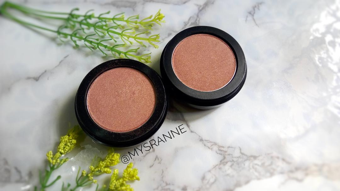 BLUSHKRUSH COSMETICS VERSABLUSH HIGHLIGHTER IN PAPARAZZI (Review & Swatches)