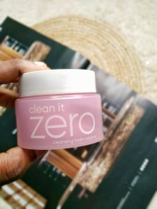 BANILA CO CLEAN IT ZERO CLEANSING BALM, BEAUTYBLOGGER, CONTENTCREATOR, NIGERIANCONTENTCREATOR