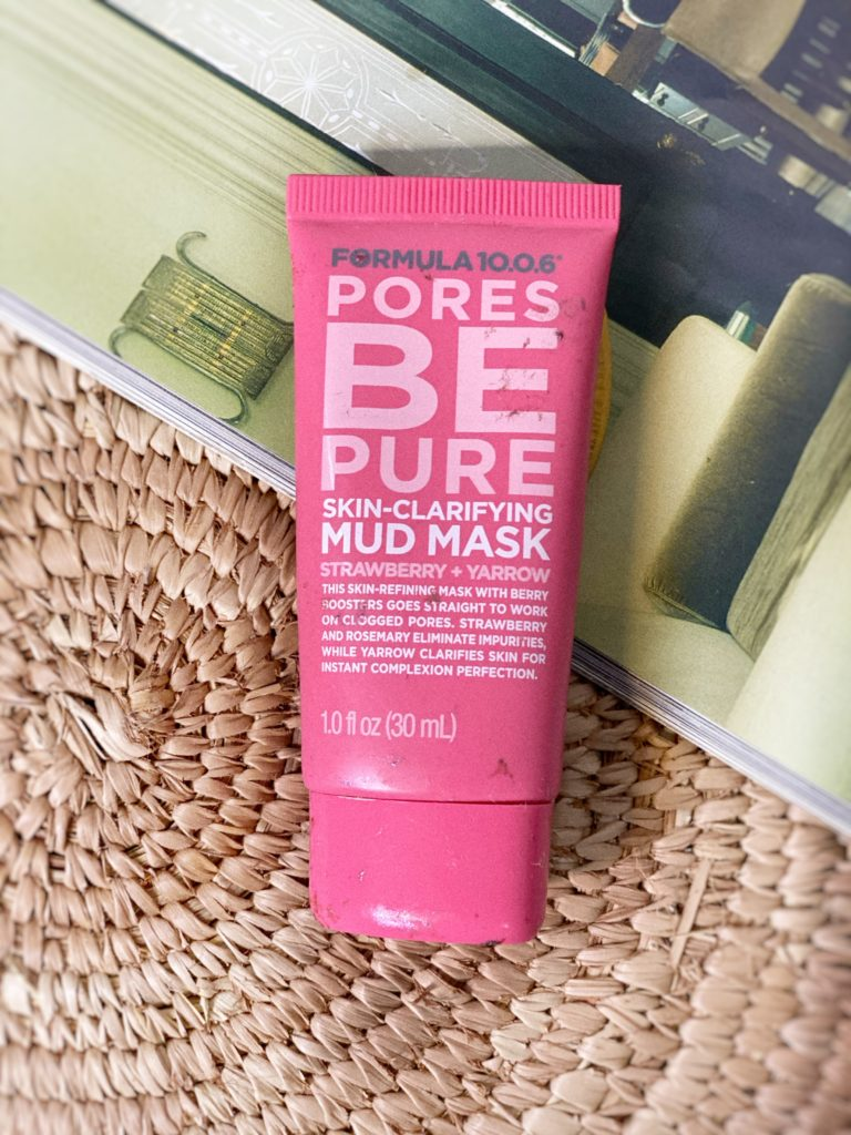 FORMULA 10.0.6 PORES BE PURE SKIN CLARFYING MUD MASK
