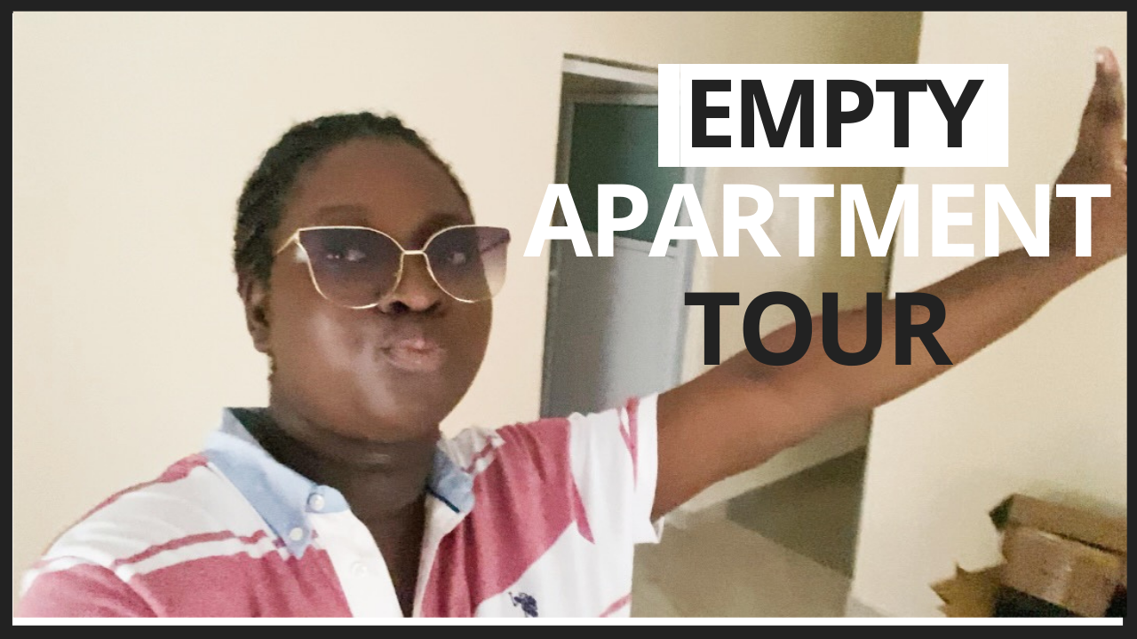 empty apartment tour
